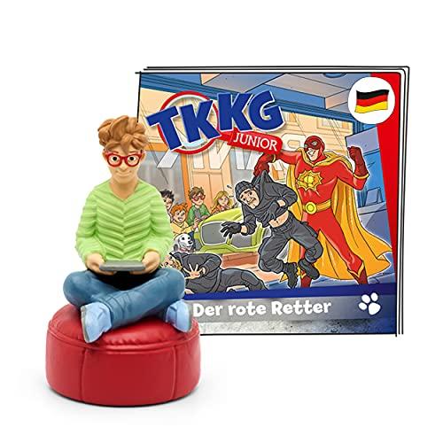 tonies Hörfiguren für Toniebox, TKKG Junior – Der rote Retter, Hörspiel für Kinder ab 5 Jahren,...