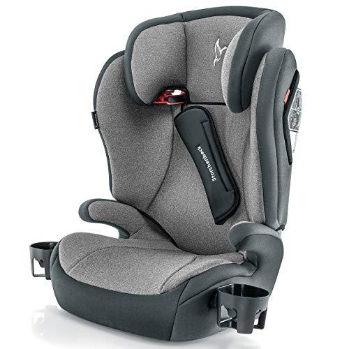 Storchenbeck Kindersitz K30 - Gruppe 2/3 Kinder Autositz (15-36 kg, 3-12 Jahre) mit verstellbarer Kopfstütze,...