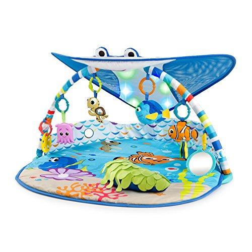 Bright Starts, Disney Baby, Findet Nemo Spieldecke mit Spielbogen, Lichtern und mehr als 20 Minuten Melodien,...