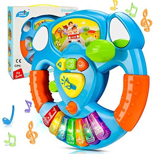 HOMCENT Baby Musikspielzeug, Klaviere Keyboard für 6 9 12 18 Monate Kleinkinder, Babyspielzeug für Kinder 1...