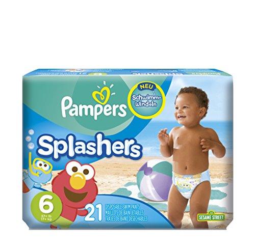 Pampers Schwimmwindeln Windeln, Gr. 6 1er Pack (1 x 21 Stück)