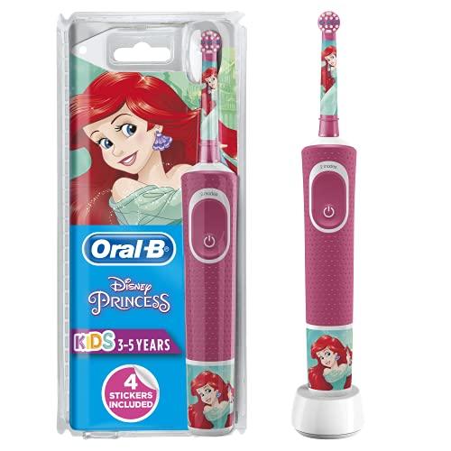 Oral-B Stages Power Kids Elektrische wiederaufladbare Zahnbürste mit Disney-Prinzessinnen ab 3 Jahren...