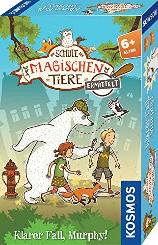 KOSMOS 712631 Die Schule der magischen Tiere ermittelt - Klarer Fall, Murphy! kniffliges Detektiv-Spiel, für...