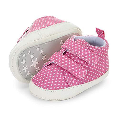 Sterntaler Jungen Mädchen Baby-Schuh Stiefel, Pink (Rosa 737), 15/16 EU