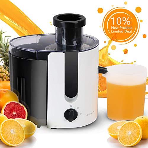 Aigostar Entsafter Gemüse und Obst Slow Juicer Maschine Saftpresse Elektrisch Automatisch mit 2 Stufen...