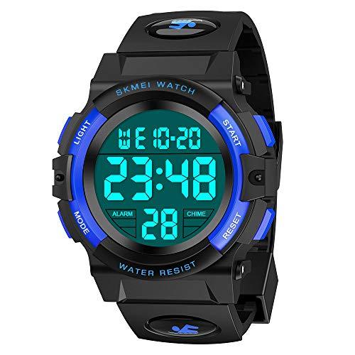 wetepuxi Armbanduhr Jungen, Geschenk Einschulung Junge Spielzeug 5-15 Jahre Jungen Digitaluhr Kinder Geschenke...