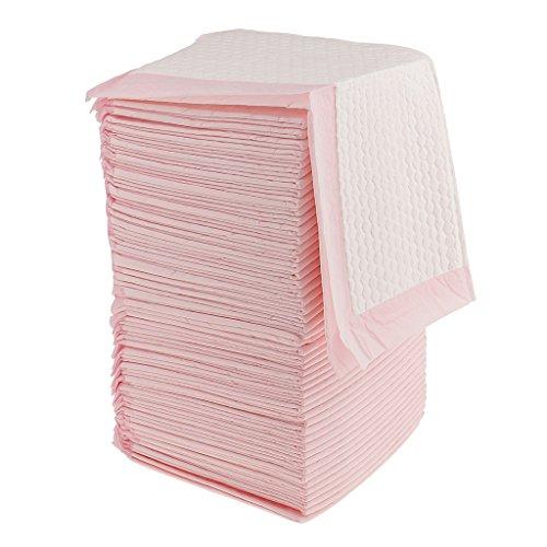 CUTICATE Inkontinenzunterlagen Krankenunterlagen Einwegunterlage Einmal Wickelunterlagen - Rosa, 50 Stück...