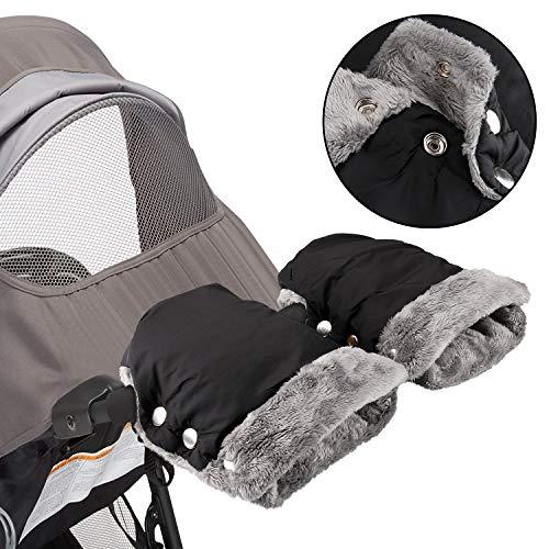 Infreecs Handwärmer Kinderwagen Handschuhe Handmuff für Kinderwagen Buggy Fahrradanhänger Kinderwagen Muff,...