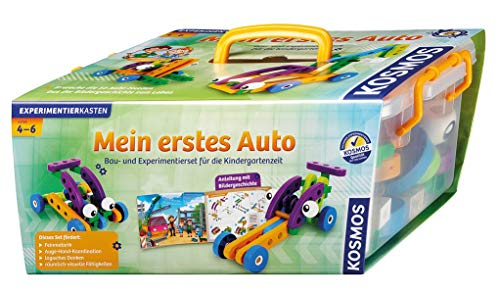 KOSMOS 606107 - Mein erstes Auto - Bau- und Experimentierset - hochwertiges Kleinkindspielzeug ab 4 Jahren