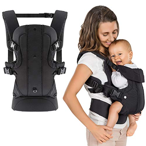 Fillikid - Ergonomische Babytrage/Kindertrage 4in1 - Bauchtrage, Rückentrage, variable...