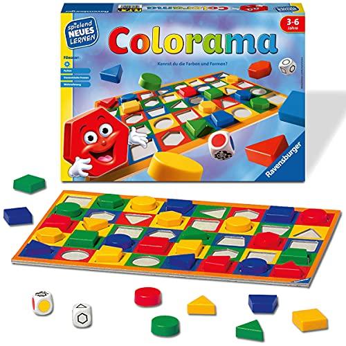 Ravensburger 24921 - Colorama - Zuordnungsspiel für die Kleinen - Spiel für Kinder ab 3 bis 6 Jahren,...