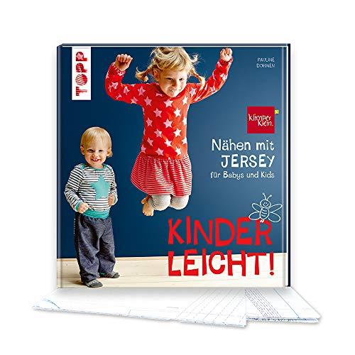 Nähen mit JERSEY - kinderleicht!: für Babys und Kids von 0 bis 8 Jahren. Mit ausführlichem Grundkurs...