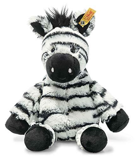 Steiff 069109 Original Plüschtier Zora Zebra, Soft Cuddly Friends Kuscheltier ca. 30 cm, Markenplüsch mit...