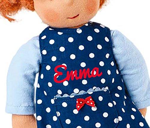 Käthe Kruse Waldorfpuppe Emelie: handgefertigte Puppe ab 36 Monaten