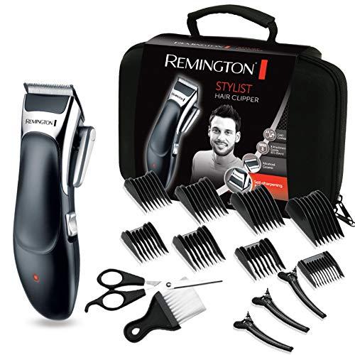 Remington Haarschneidemaschinen-Set HC363C (selbstschärfende keramikbeschichtete Klingen, 8 Kammaufsätze +...