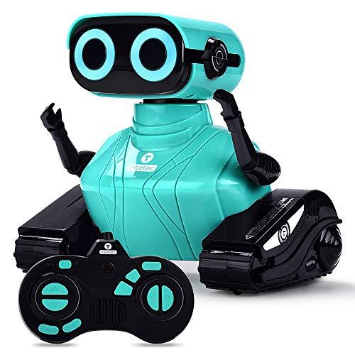 ALLCELE RC Roboter Kinder Spielzeug, Ferngesteuertes Auto Roboter Spielzeug mit Fernbedienung für Kinder ab...