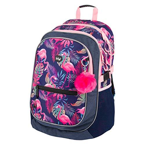 Baagl Schulrucksack für Mädchen, Kinderrucksack mit ergonomisch geformter Rücken, Brustgurt und...