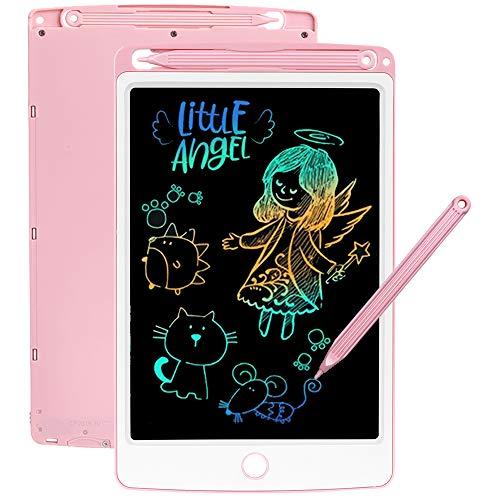SCRIMEMO LCD Schreibtafel 8,5 Zoll Bunte hellere Schrift, LCD Writing Tablet Schreibtafel für Kinder, Stift...