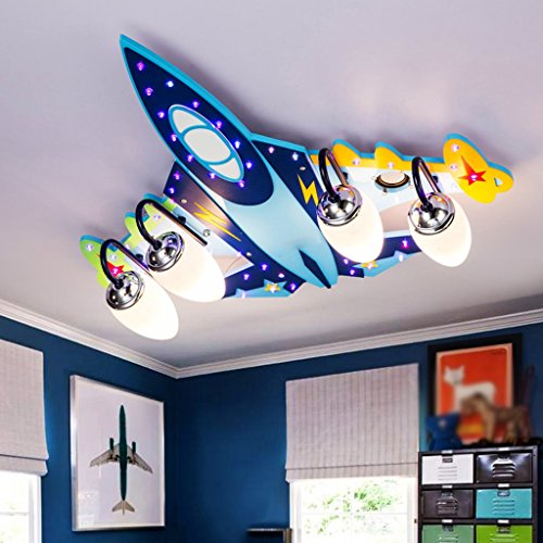 kindergarten mit lampen und lichtern