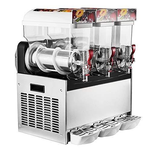 Moracle 2 x 15L Slusheis Maschine 500W/600W Slush Maker kommerziell Slush Ice Machine Slush Eismaschine Frozen...