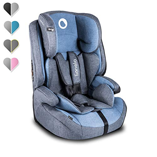 Lionelo Nico Kindersitz 9-36kg Kindersitz Auto Gruppe 1 2 3 Seitenschutz 5-Punkt Sicherheitsgurt abnehmbare...
