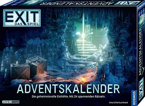 KOSMOS 693206 EXIT - Das Spiel Adventskalender 2020 Die geheimnisvolle Eishöhle, mit 24 spannenden Rätseln...