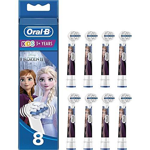 Oral-B Kids Disney Frozen Aufsteckbürsten für Kinder ab 3 Jahren, in briefkastenfähiger Verpackung, 8...