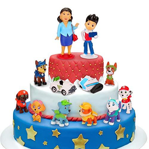 Sinwind Tortenfiguren, 12er MiniFiguren Tortendeko, Cake Topper Kuchendeko, Geburtstags Party liefert Cupcake...