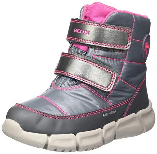 Geox Baby-Mädchen B FLEXYPER Girl B AB Snow Boot, Silber (Silver), 23 EU