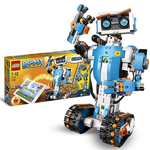 LEGO 17101 Boost Programmierbares Roboticset, 5-in-1 App-gesteuertes Modell mit einem programmierbaren,...