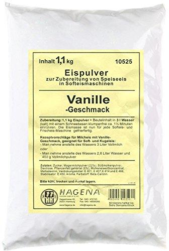 Softeispulver Vanille-Geschmack, 1,1 kg
