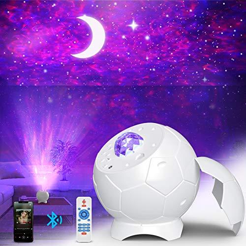 Fezax LED Sternenhimmel Projektor Lampe, 28 Lichteffekte Romantisches Sternenlicht Nebula Galaxy...