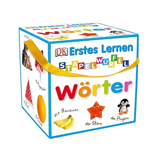 Erstes Lernen - Stapelwürfel Wörter: 10 stabile Karton-Würfel mit tollen Fotos zum Spielen, Entdecken und...