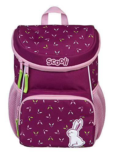 Scooli Kindergartenrucksack mit Brustgurt für Mädchen I Ergonomischer Vorschulrucksack für die Kita I viel...
