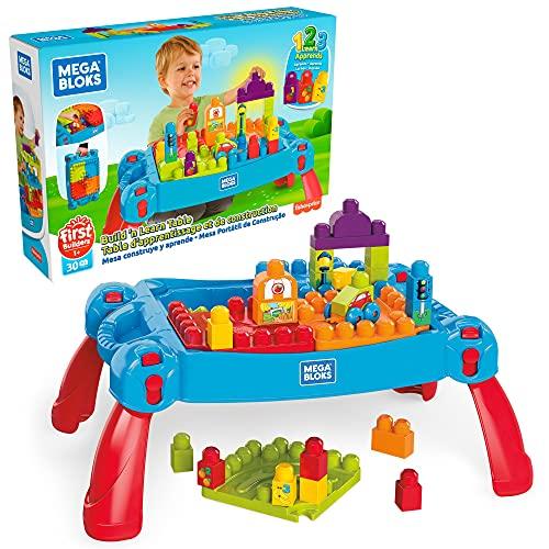 Mattel Mega Bloks FGV05 - Bau und Spieltisch, 30 Teile