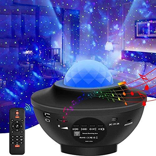 LED Sternenhimmel Projektor, Sternenlicht Projektor Nachtlicht mit Starry...