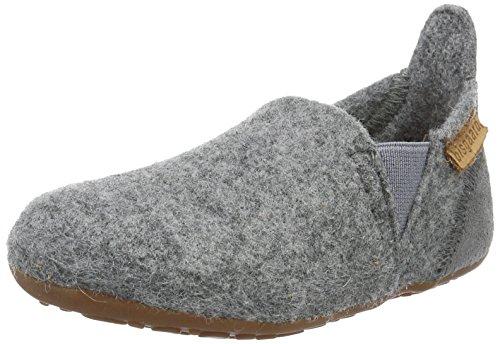 Bisgaard Wool Sailor Slipper, Grau (70 Grey), 25 EU