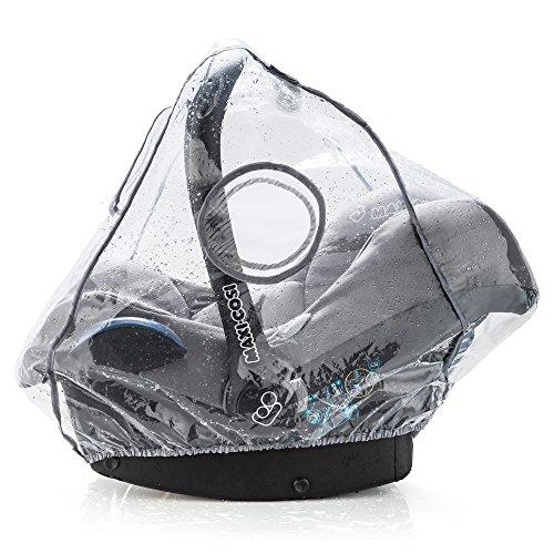 Universal Komfort Regenschutz für Babyschale (z.B. Maxi-Cosi/Cybex/Römer) - gute Luftzirkulation,...