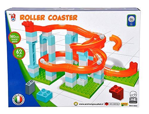 Simba 104114486, Kugelbahn, 62 Teile, für Kinder ab 4 Jahren, 3 Kugeln, Lauflänge 160 cm
