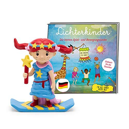 tonies Hörfigur für Toniebox, Lichterkinder – Best of Album der beliebtesten Spiel- und Bewegungslieder,...