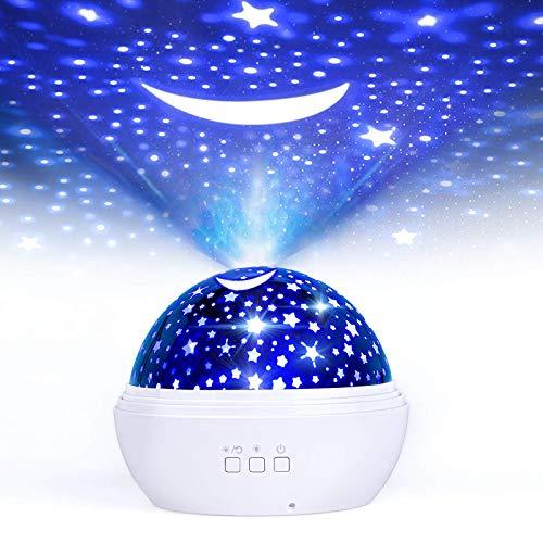 LED Nachtlicht Baby LED Sterneprojektor KLEINER PRINZ Farbwechsler Sternenhimmel