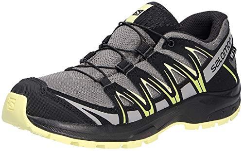 Salomon Kinder XA PRO 3D, Schuhe für Trail Running und Outdoor-Aktivitäten, ClimaSalomon Waterproof ,Grau...