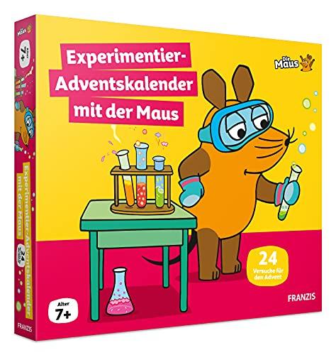 FRANZIS 67185 - Experimentier-Adventskalender mit der Maus, 24 Experimente zum Staunen, Lachen und Rätseln,...