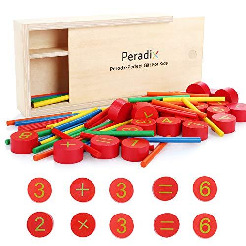 Peradix 3-in-1 Schachspiel Magnetisch, Einklappbar Schachbrett Pädagogische Speil mit Magnetischem