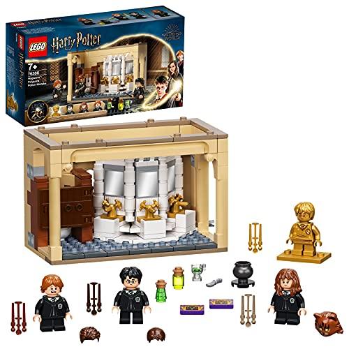 LEGO 76386 Harry Potter Hogwarts: Misslungener Vielsaft-Trank Set zum 20. Jubiläum mit Harry als goldene...