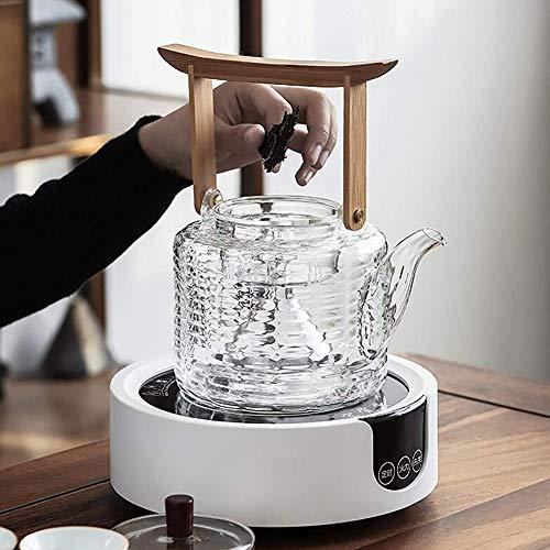 ZHIRCEKE AutomaticWasserkocherMini Tea Maker kit, Glaswasserkocher BPA-freie, schnell kochende Teekocher,...