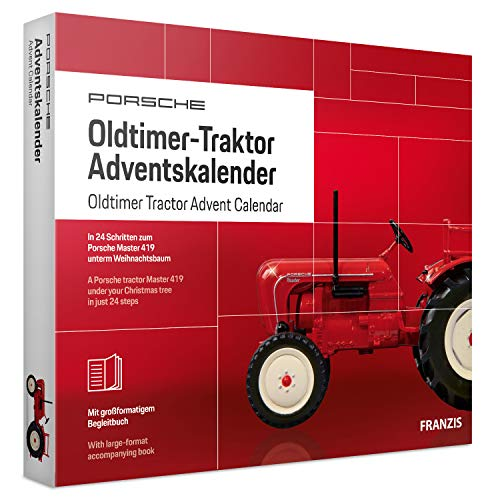 FRANZIS Porsche Oldtimer-Traktor Adventskalender 2019