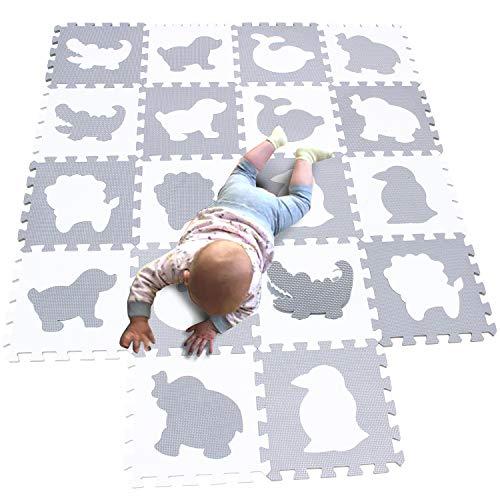 MQIAOHAM spielmatte baby puzzlematte puzzelmatten für babys play mat krabbelmatte boden puzzle spielmatten...