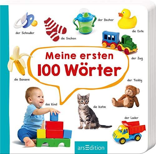 Meine ersten 100 Wörter: Foto-Wörterbuch   Mit stabilen Pappeseiten, fördert die Sprachentwicklung für...