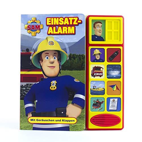 Feuerwehrmann Sam - Einsatzalarm - Klappen-Geräusche-Buch für Kinder ab 3 Jahren